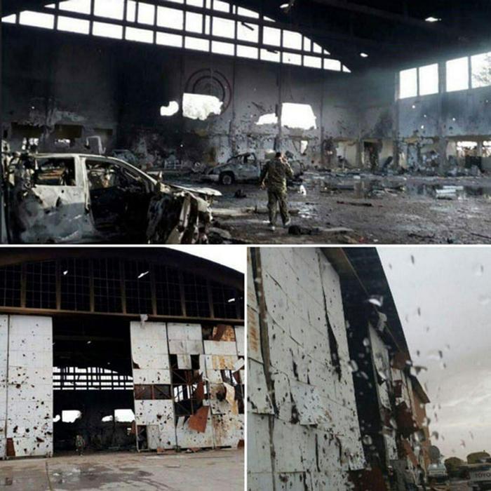 اولین تصاویر از محل شهادت ۷ ایرانی در فرودگاه T۴