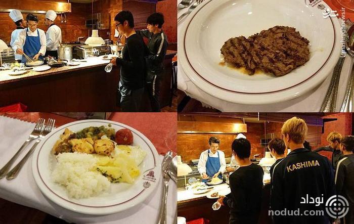 عکس /  سرآشپز ژاپنی کاشیما در تهران