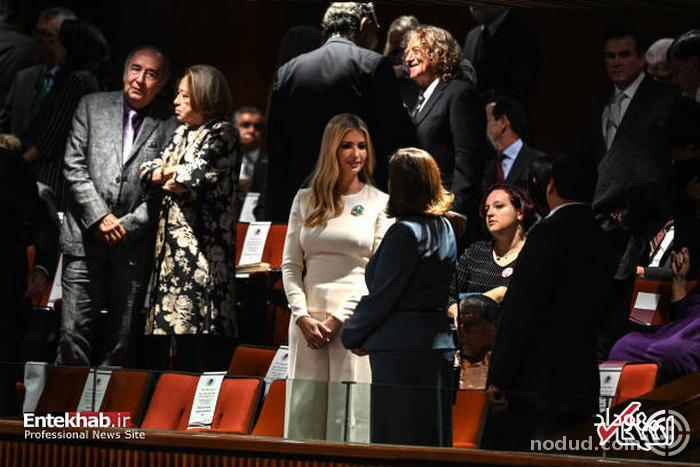 عکس/ دختر ترامپ در مراسم تحلیف رئیس جمهور جدید مکزیک