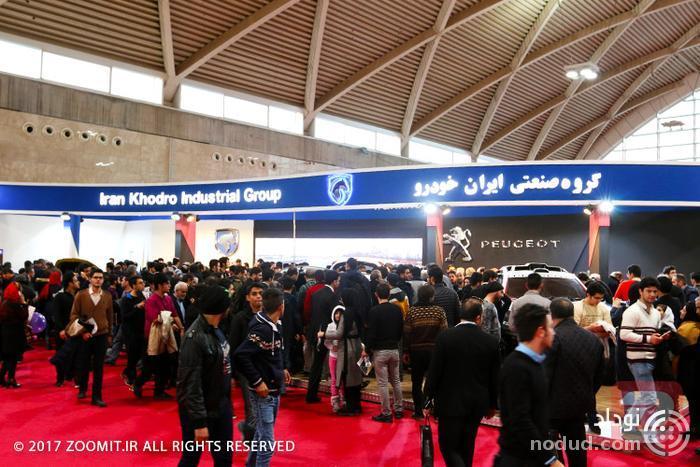 غرفه ایران خودرو نمایشگاه خودرو تهران