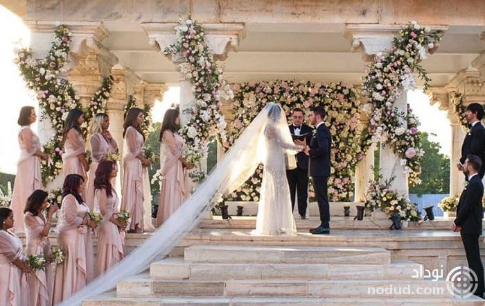 تصاویر مراسم عروسی پریانکا چوپرا و نیک جوناس (بازیگر هندی)