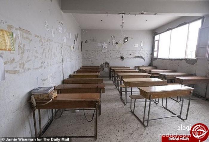 دانش آموزان سوری پس از ۴ سال به مدرسه می روند////اولین کلاس درس دانش آموزان سوری در «رقه» پس از ۴ سال+عکس
