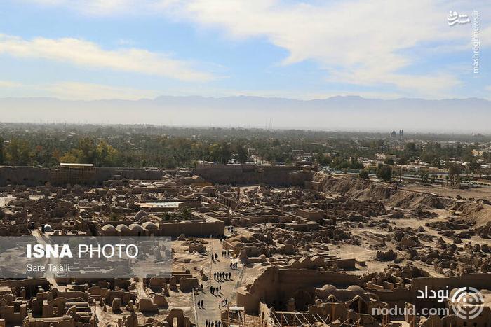عکس /  ارگ بم ۱۵ سال بعد زلزله