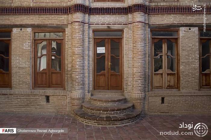 عکس /  عمارت رویایی فاضلی در ساری!