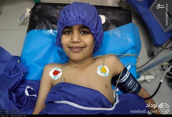 عکس /  اهداء اعضای نوجوان 13 ساله اهوازی