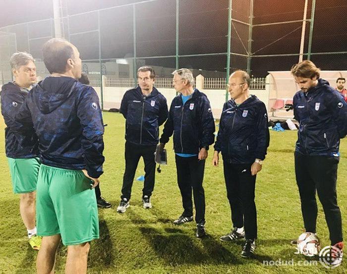 حضور نیکو کرانچار در تمرین تیم ملى امید (عکس)