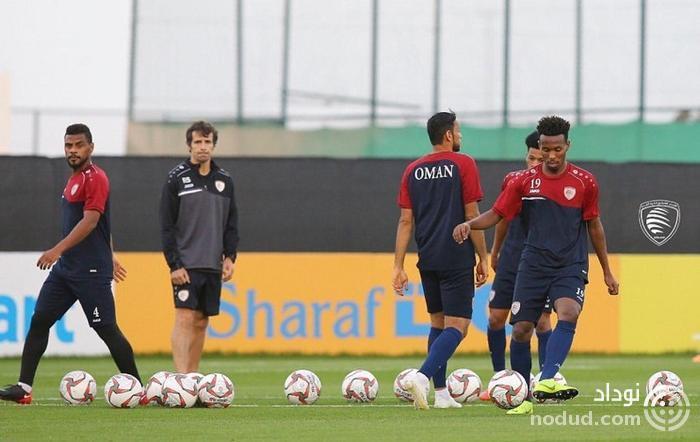 تمرین عمانی ها برای شکست یوزهای ایرانی (عکس)