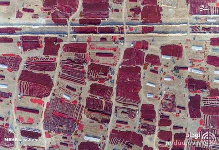 چین را از بالا ببینید + تصاویر