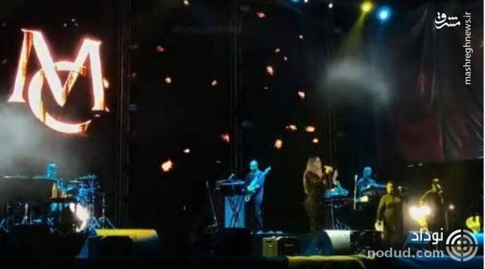 اجرای کنسرت خواننده زن آمریکایی در مکه!