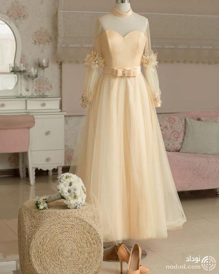 عکسی از لباس عروس الهام حمیدی