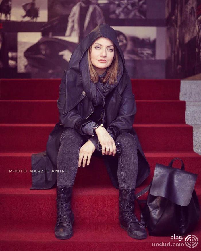جدیدترین تیپ مهناز افشار در جشنواره فجر+عکس