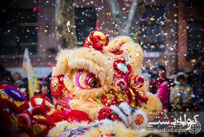 جشن سال نو چینی ها در تایلند