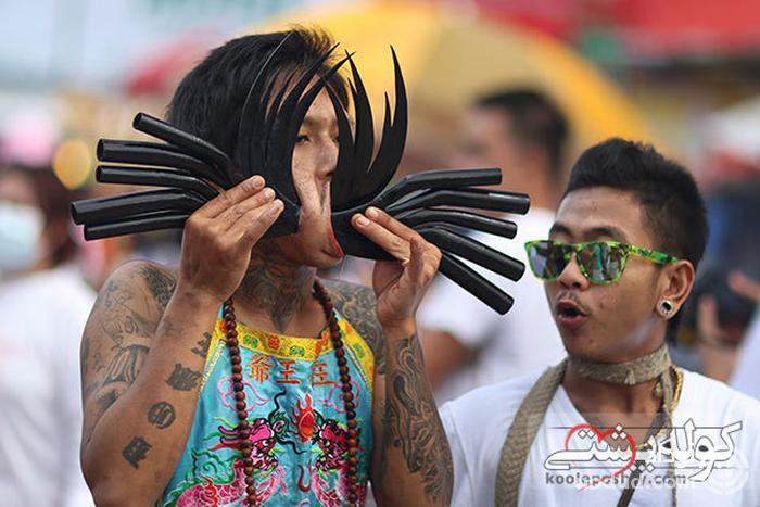 فستیوال گیاه خواران تایلند