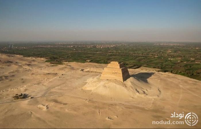 کشف اسکلت دختر ۱۳ ساله در کنار هرم مصر