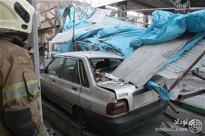 عملیات 125 برای رهاسازی خودروهای مانده در زیر داربست ها