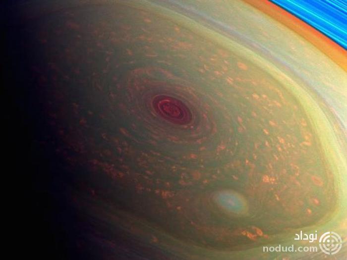 هیچکس نمی داند چرا در قطب شمال زحل، یک طوفان شش ضلعی چرخان وجود دارد