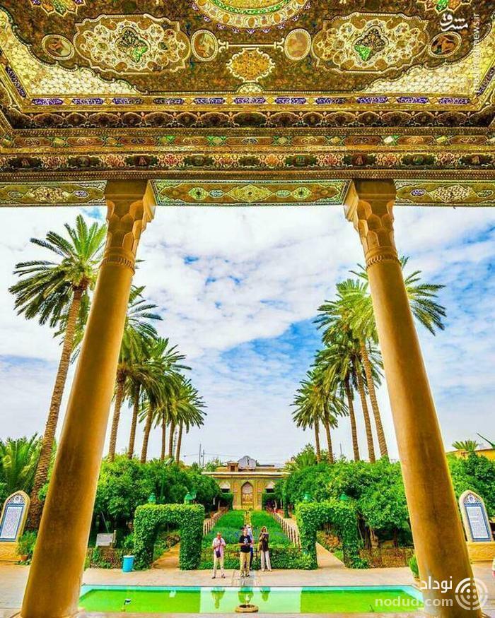 عکس /  باغی دیدنی در شیراز