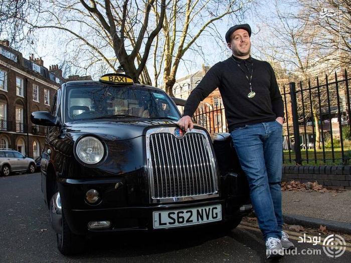 تصاویری از لاکچریترین تاکسی جهان!