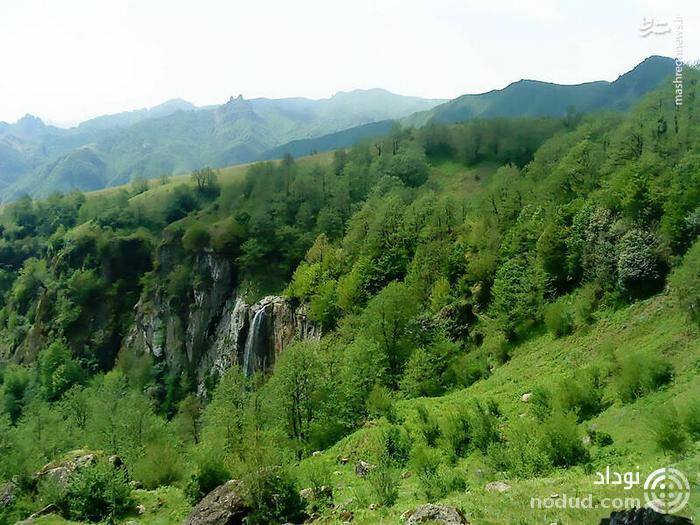 تصاویری از بلندترین آبشار ایران