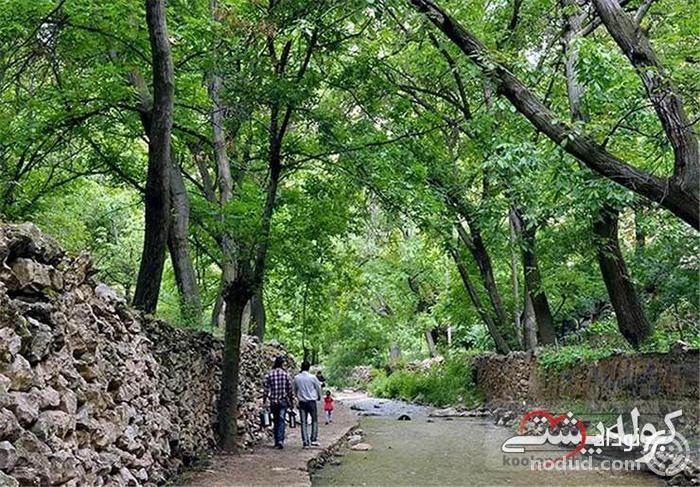 جاغرق مشهد، روستای زیبا در چهارفصل
