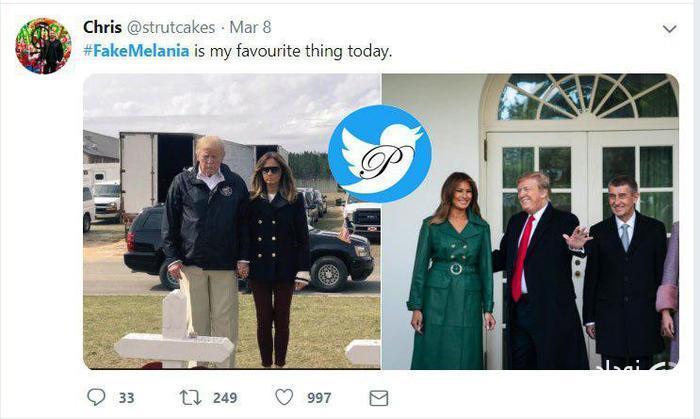ملانیا ترامپ بَدَل دارد؟ +عکس