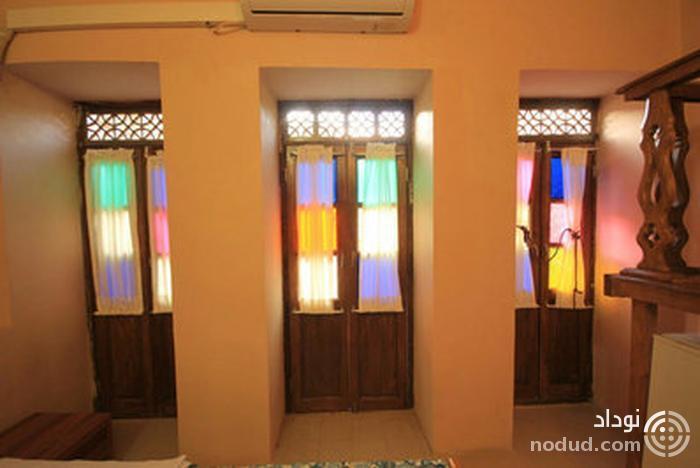 خانه سنتی ماه منیر شیراز، با صفا و قدیمی