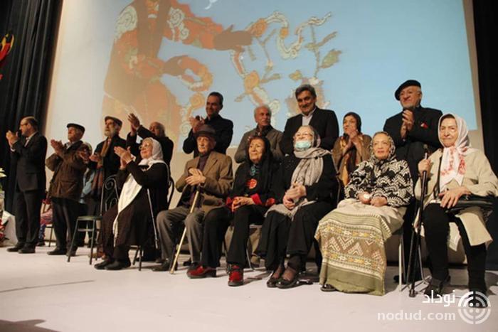 حضور شهلا ریاحی در یک جشن هنری پس از سال ها