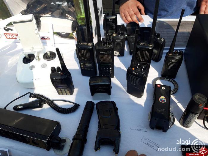 فروش هلی شات و تجهیزات پلیسی غیر قانونی در ولنجک + عکس