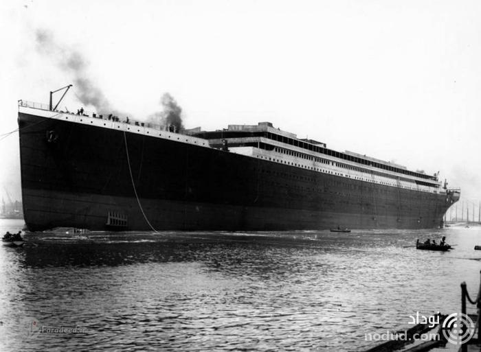 مسافران حقیقی کشتی تایتانیک +عکس