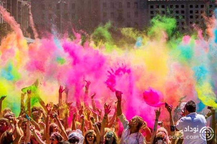 جشنواره هولی هند