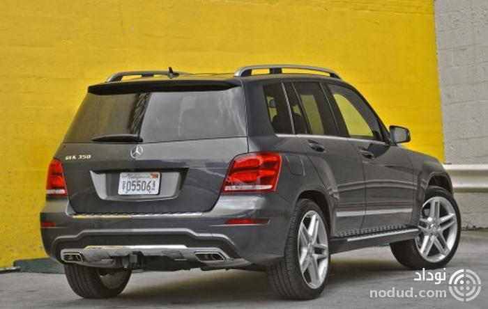 Mercedes-Benz GLK350 4MATIC 2013 Rear