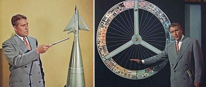 موشک و ایستگاه فضایی فون براون