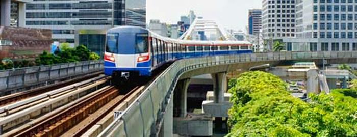 قطار هوایی بانکوک