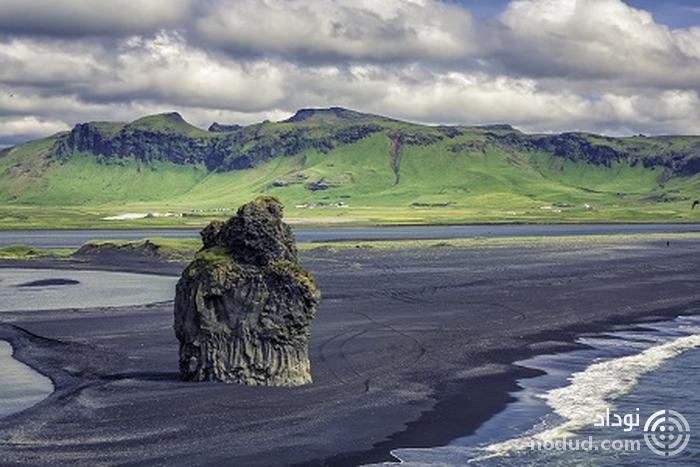 ساحل ویک (Vik Beach)، ایسلند