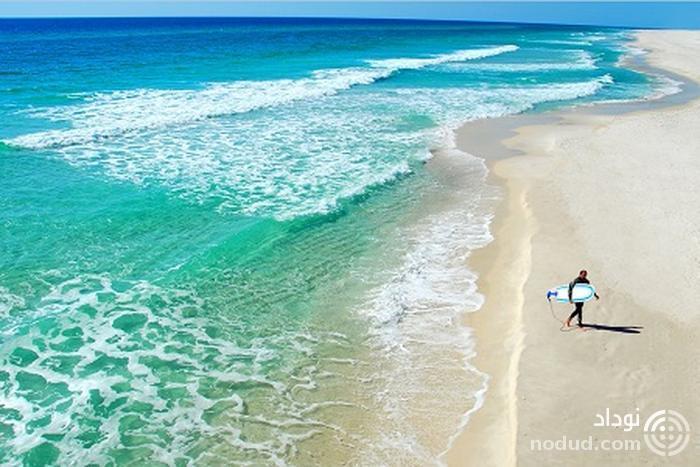 ساحل پنساکولا (Pensacola Beach)، فلوریدا