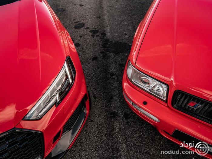 استیشن های قدیم و جدید ABT، ملاقات آئودی RS2 و RS4