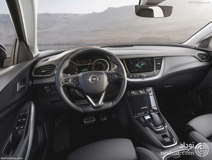معرفی اوپل گرندلند هیبریدی با 300 اسب بخار قدرت و سامانهٔ چهارچرخ محرک