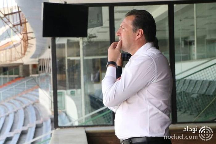 حضور ویلموتس در استادیوم آزادی + تصویر