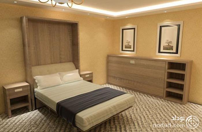 تخت دیوارى  Folding-up bed