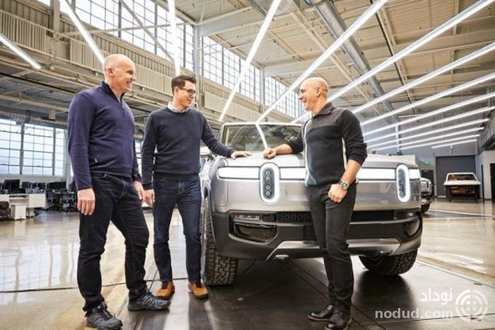 معرفی بزرگ ترین مجموعه باتری خودروهای الکتریکی توسط ریویان