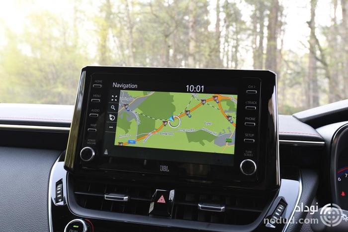 تجربه رانندگی با تویوتا کرولا تورینگ اسپورت جدید