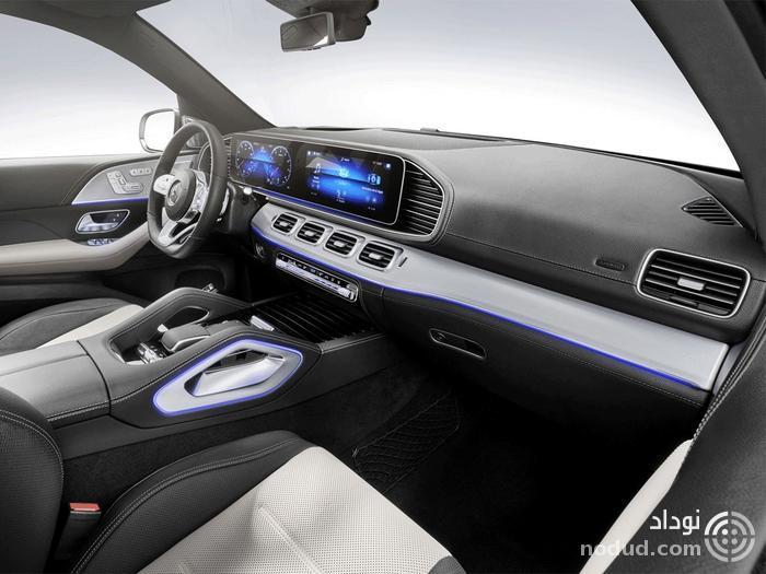 معرفی مرسدس بنز GLE580 با پیشرانهٔ V8 و سیستم هیبریدی خفیف