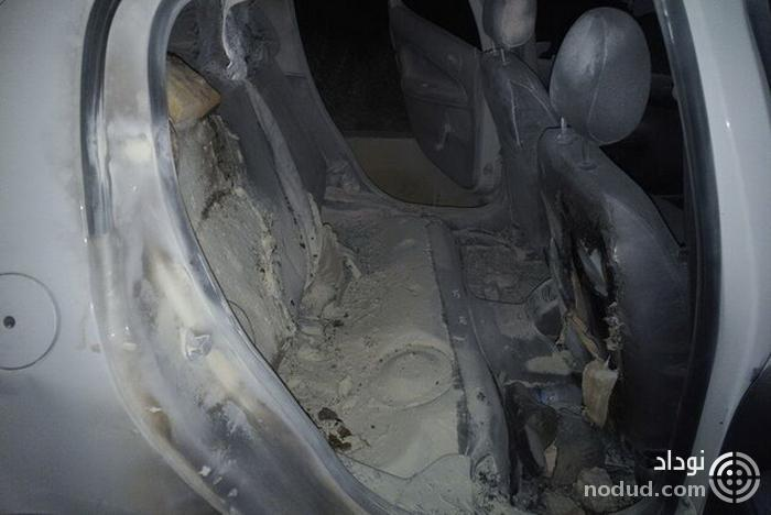 آسیب جدی به چند خودرو بعد از دیدار پرسپولیس و سپاهان