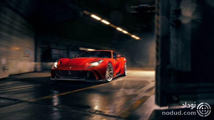 فراری 812 نوویتک: پهن تر، قوی تر و سریع تر!