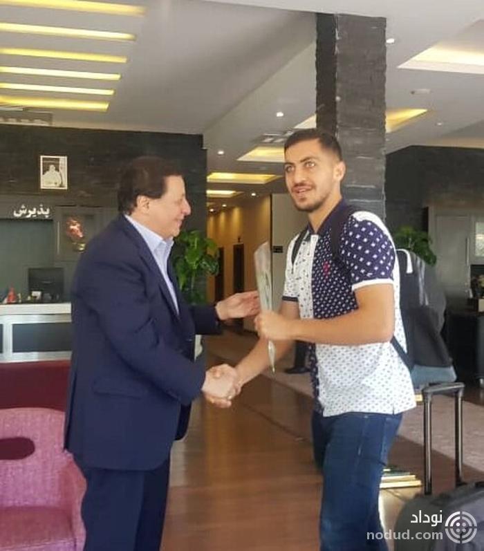 استقبال ویلموتس و هاشمیان از بازیکنان تیم ملی