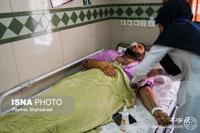 در اصفهان نیروی انتظامی هم می ترسید دخالت کند! /  دختر ۳ ساله ام با دیدنم ترسید