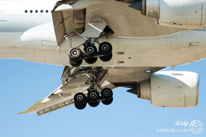 صدای گوروپ گوروپی که هنگام بلند شدن هواپیما