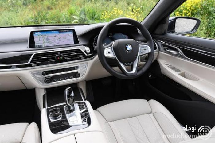 تجربه رانندگی با ب ام و 745Le پلاگین هیبرید جدید