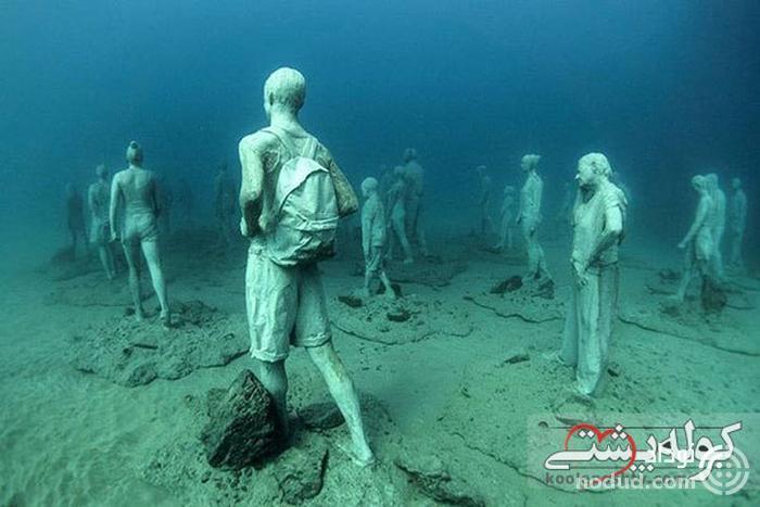 موزه زیر آبی، غواصی در دریای مدیترانه