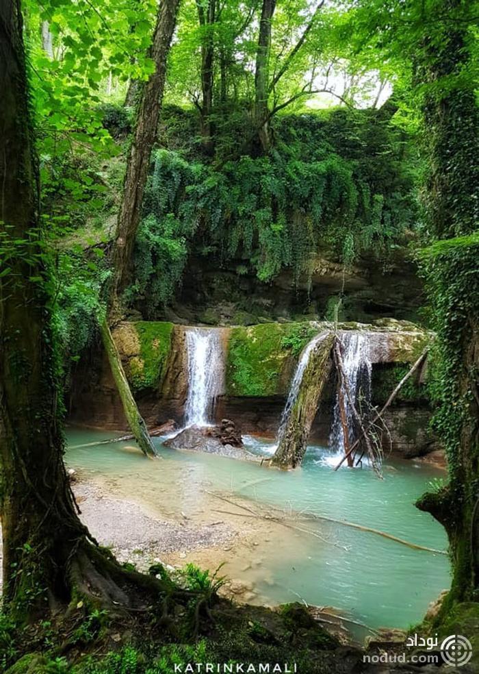 کاترین کمالی - هفت آبشار بابل  خرداد ۹۸